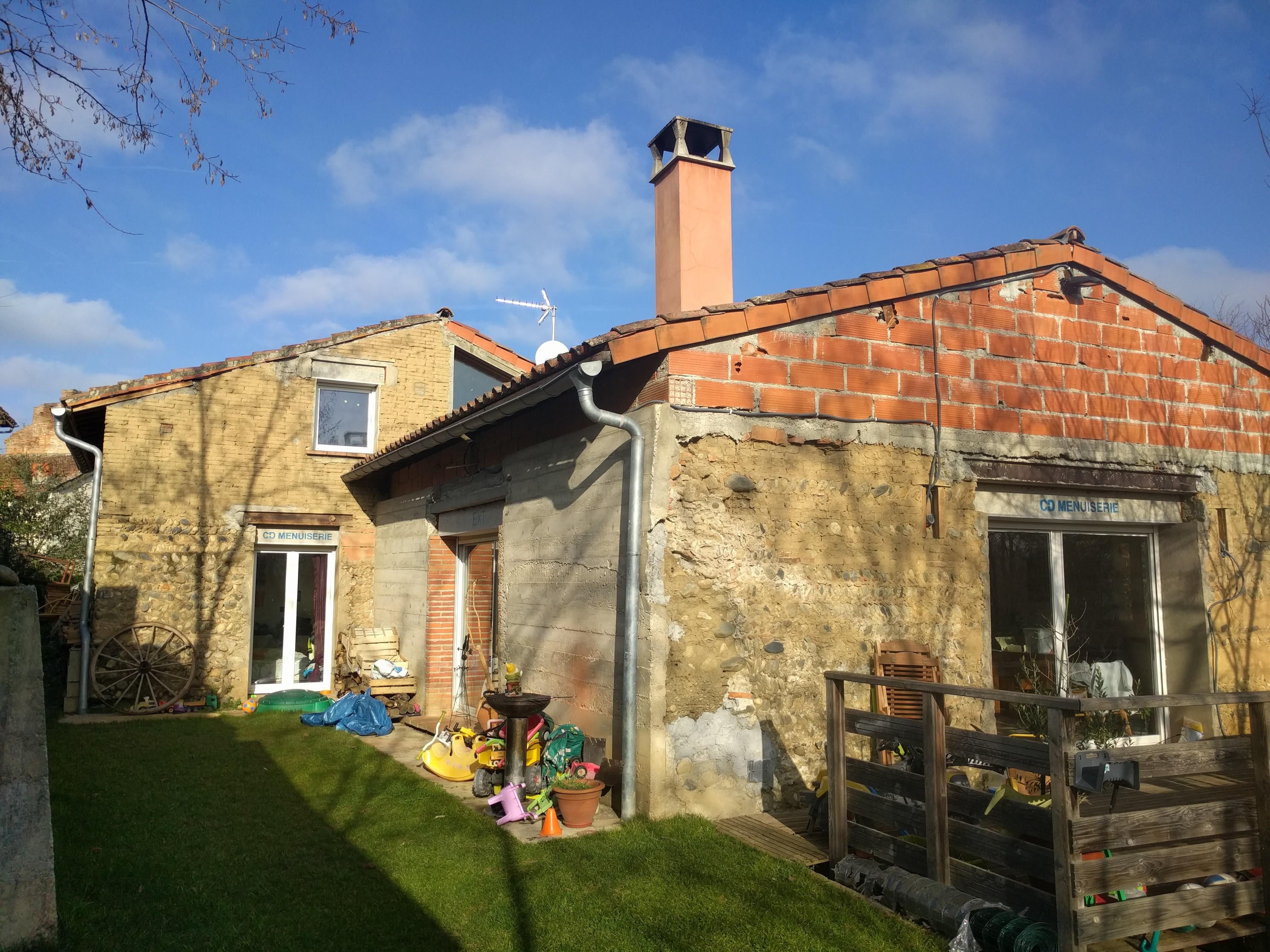 audit énergétique d'une maison individuelle ancienne à Carbonne